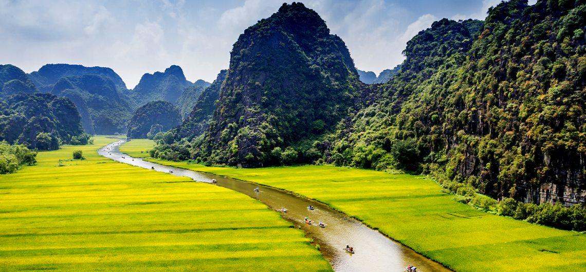 Cảnh đẹp thiên nhiên Tam Cốc - Bích Động tour du lịch trong nước