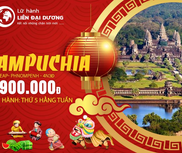 Tour Du Lịch Khám Phá Campuchia4N3Đ