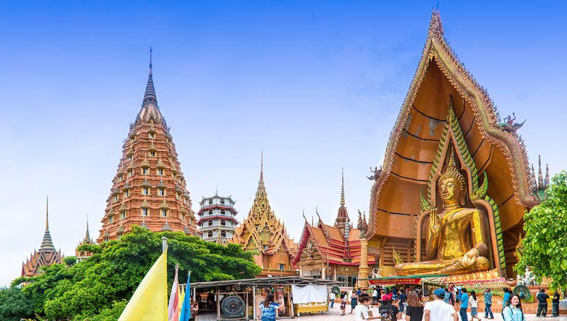 ngôi làng thơ mộng gần bangkok