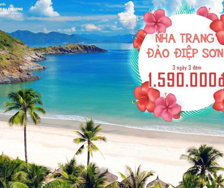 Tour Đảo Điệp Sơn - Nha Trang 3N3Đ