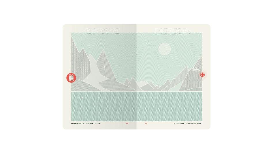 Hộ chiếu vô cùng đặc biệt của Na Uy