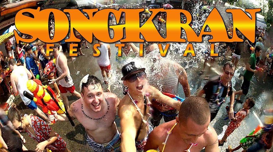 Tết Songkran Thái Lan - Tết té nước lớn nhất trên thế giới