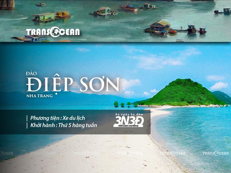 Tour Du lịch Đảo Điệp Sơn - Nha Trang 3N3Đ