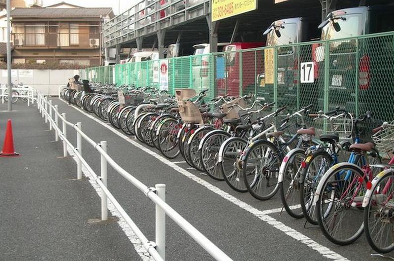 Văn hóa đi xe đạp của người Nhật