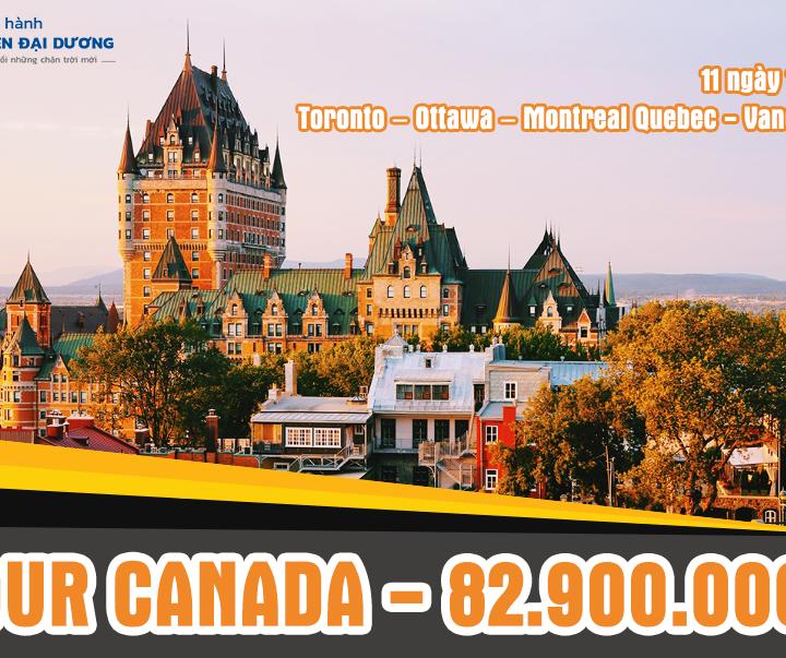 Du lịch Canada giá rẻ