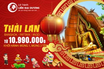 Du lịch Xuân Thái Lan 2019