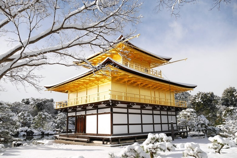 Mùa đông ở Nhật Bản vào tháng 12