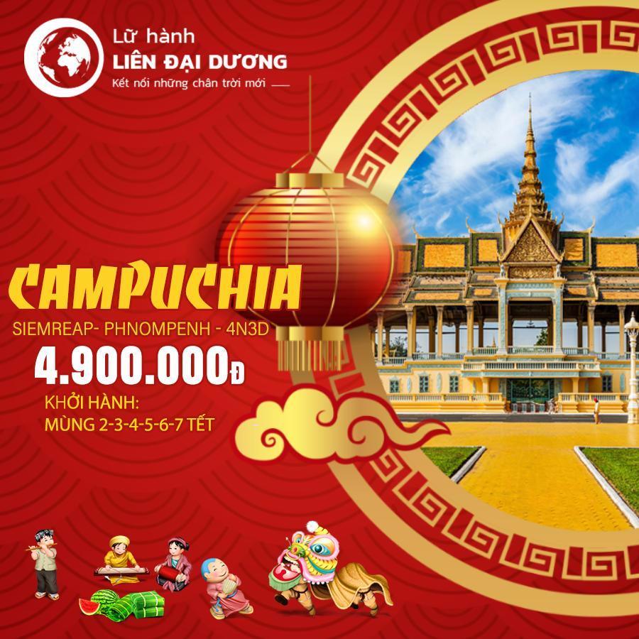 Tour du lịch Campuchia Tết Kỷ Hợi