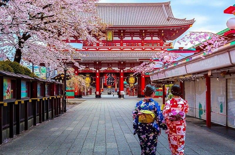 Du lịch tháng 12 ở Nhật Bản