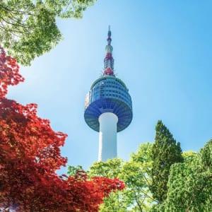 Tháp N-Seoul - địa điểm của tình yêu