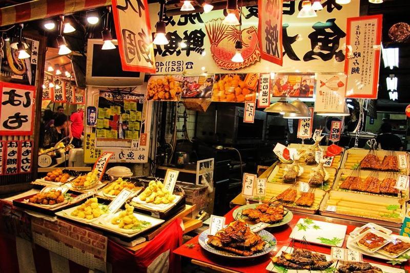 Ẩm thực Osaka phong phú và đa dạng