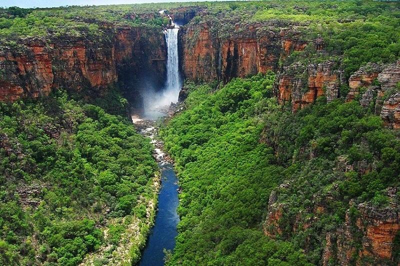 Vườn quốc gia Kakadu nhìn từ trên cao