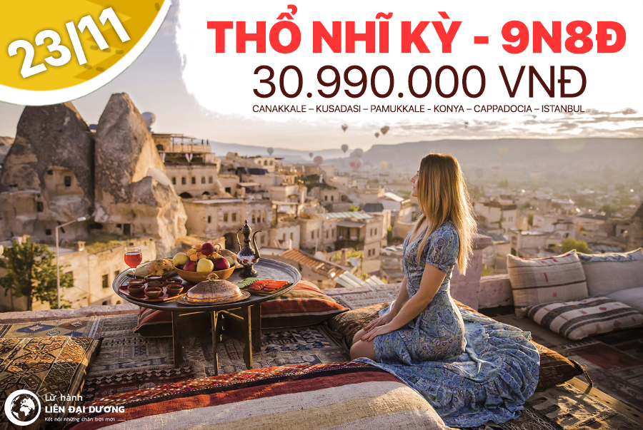 Du lịch Thổ Nhĩ Kỳ giá rẻ