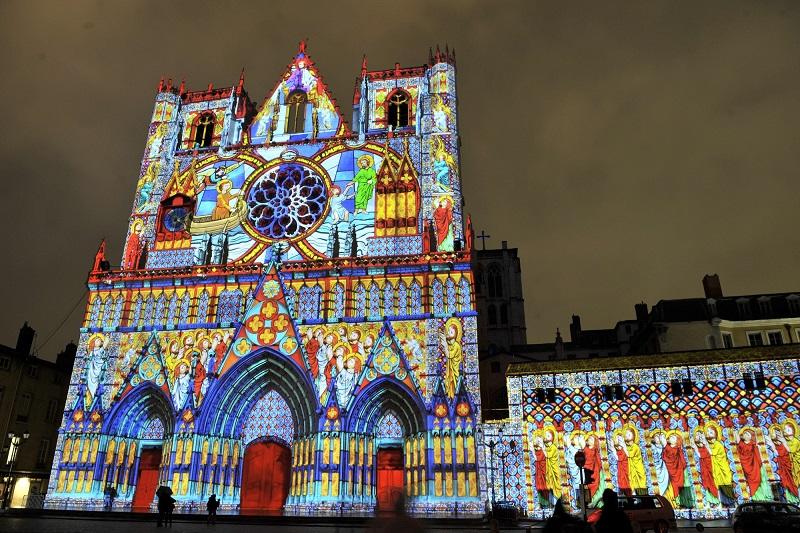Lễ hội ánh sáng Lyon đầy sắc mày
