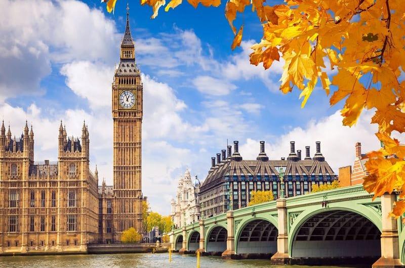 5 địa điểm du lịch nổi tiếng nhất nước Anh