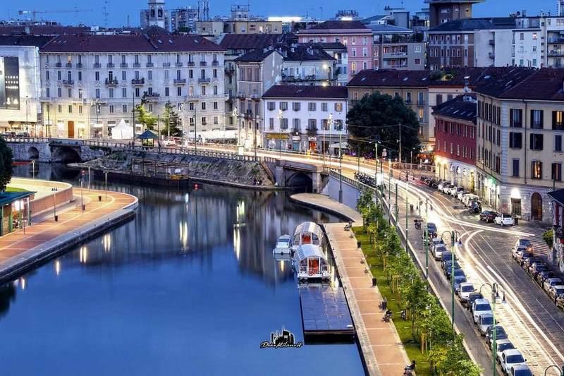 Quận Navigli với nét cổ kính