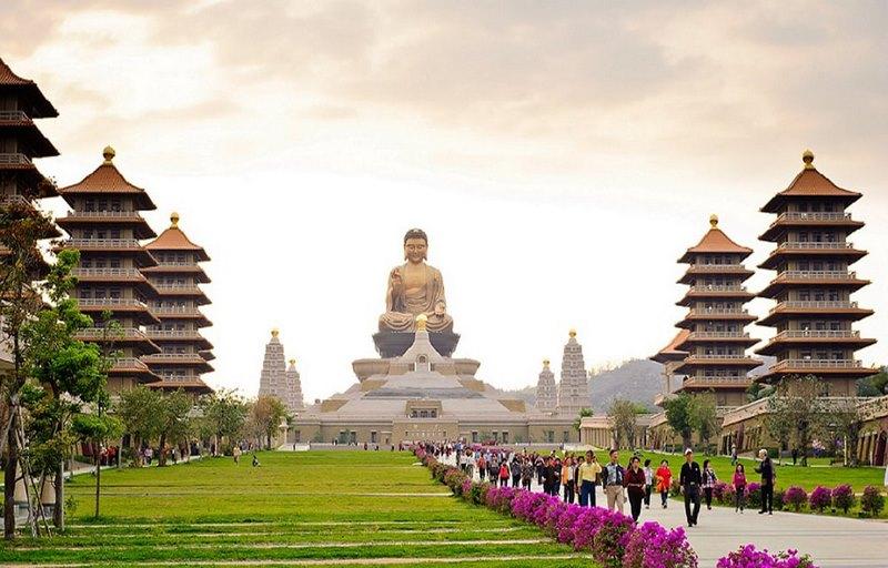 Phật Quang Sơn lớn nhất Đài Loan