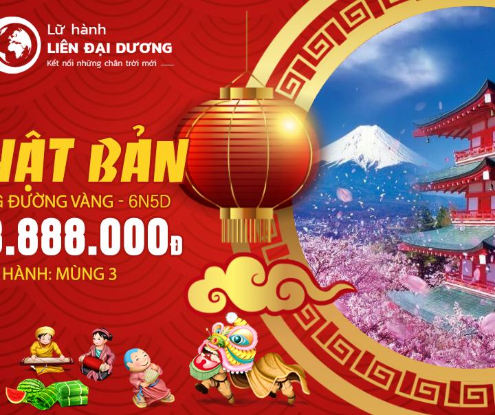 Tour Du lịch Cung đường vàng Nhật Bản xuân Kỷ hợi