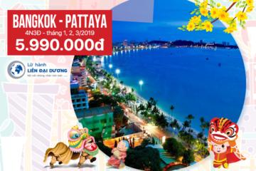 Tour Du Lịch Thái Lan Bangkok - Pattaya 4N3Đ