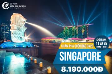 Tour Khám phá quốc đảo Singapore