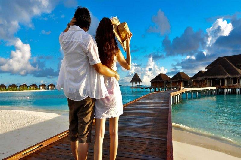 Thiên đường nghĩ dưỡng Maldives dành cho những cặp đôi tình nhân