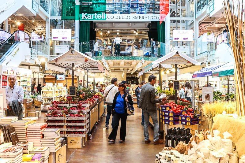 Thánh địa ẩm thực Milan's Eataly