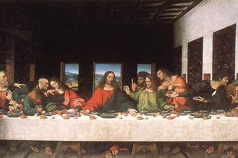Bức tranh Last Supper của họa sĩ nổi tiếng Leonado Da Vinci