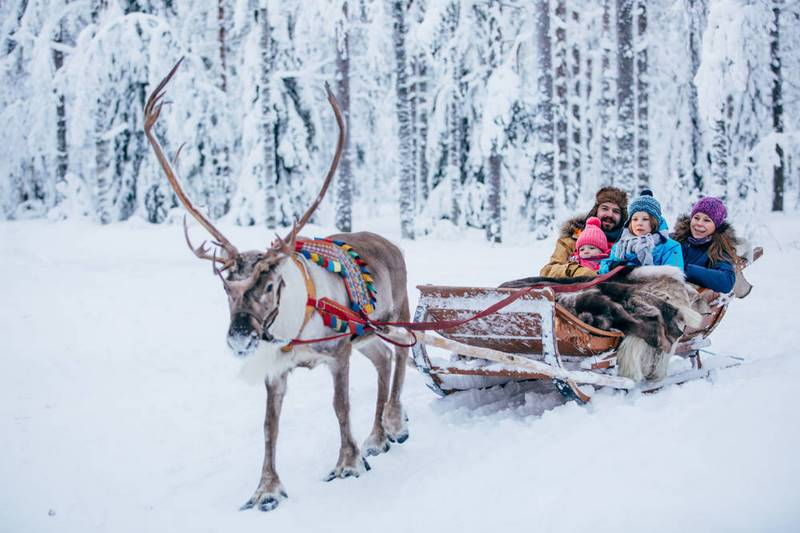 Quê hương của ông già Noel Lapland