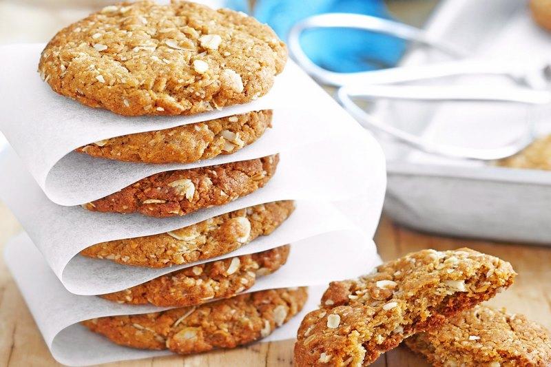 Bánh quy Anzac Biscuit - đặc sản của người dân New Zealand