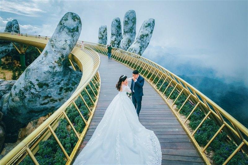 Cầu Vàng - điểm du lịch mới lọt Top trên thế giới