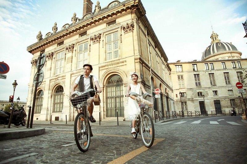 Kinh đô Paris lãng mạn cho những cặp đôi