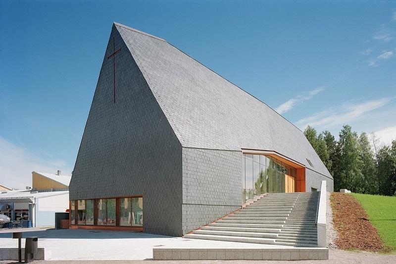 Nhà thờ Kuokkala với kiến trúc độc đáo