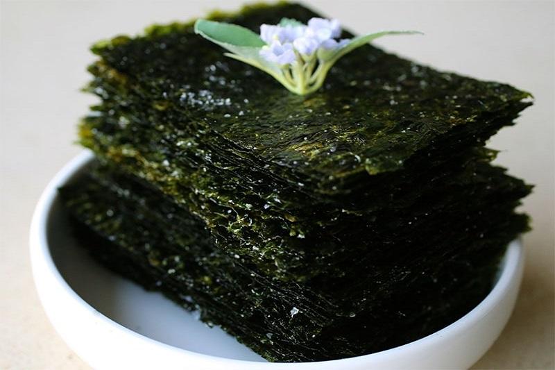 Rong biển Hàn Quốc được sản xuất thành nhiều loại