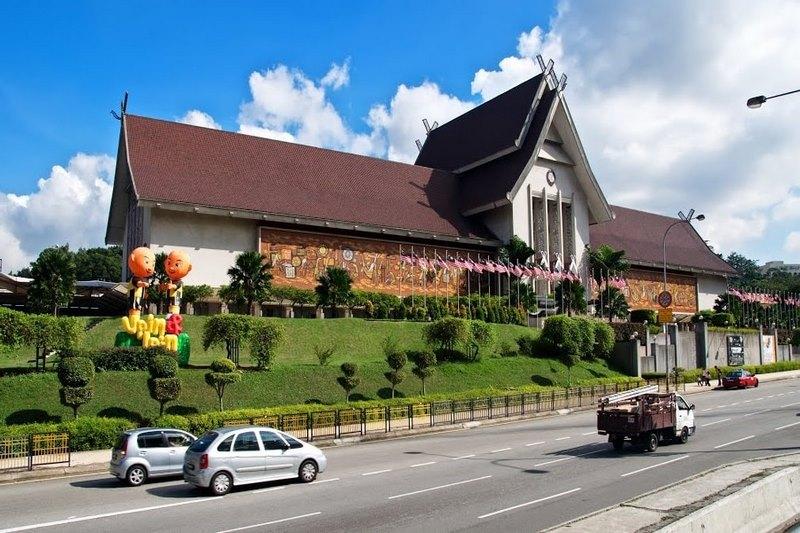 Jala Damansara -Bảo tàng quốc gia với nét kiên trúc đặc biệt