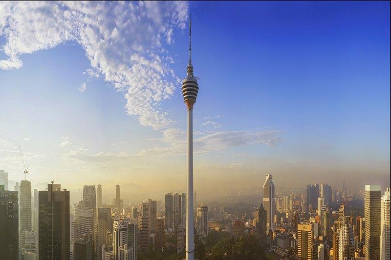 Ngắm toàn cảnh thành phố tại KL Tower