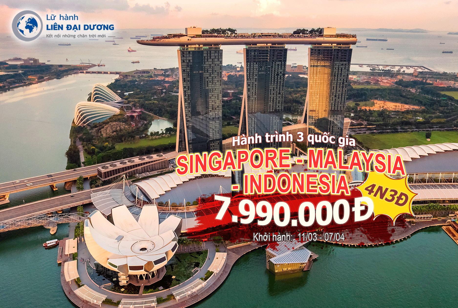 tour-singapore-malaysia-indonesia-4N3D
