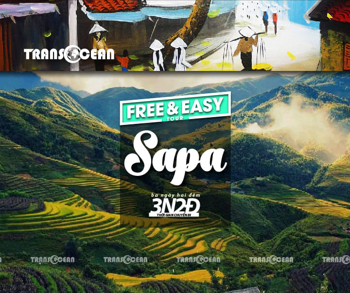 TOUR FREE AND EASY SAPA 3N2Đ