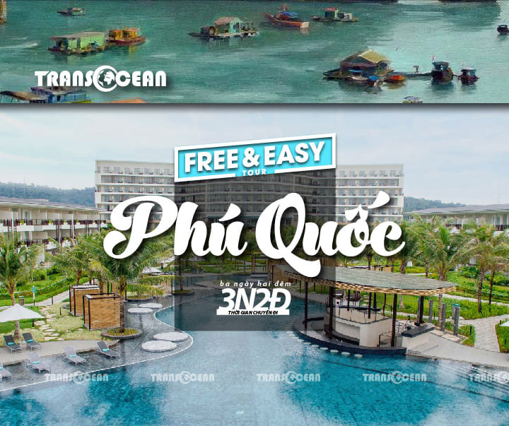 TOUR FREE AND EASY SOY BEACH HOUSE PHÚ QUỐC 3N2Đ