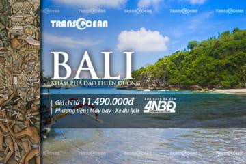 TOUR 2020 | BALI - THIÊN ĐƯỜNG NGHỈ DƯỠNG 4N3Đ