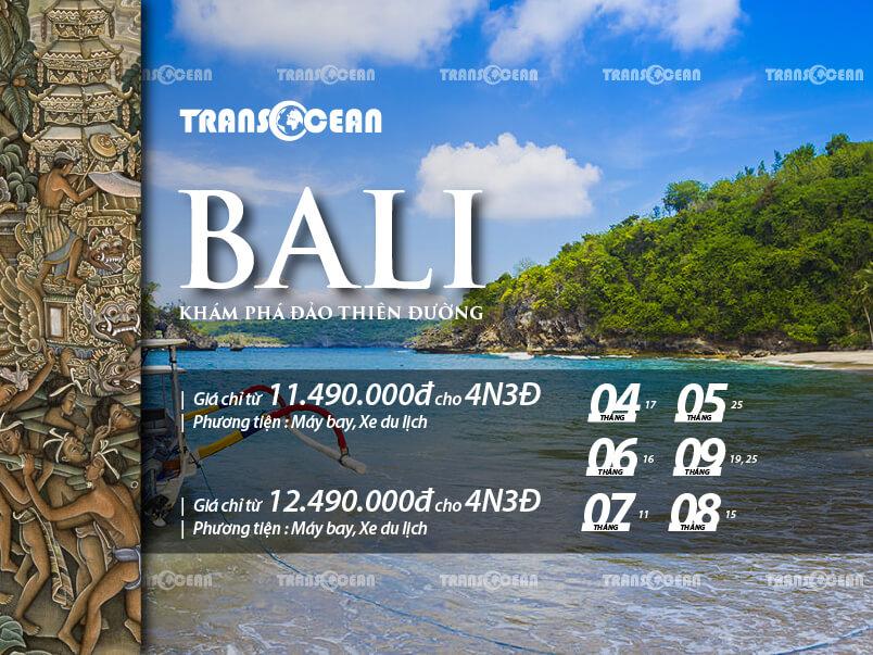 TOUR 2020   BALI - THIÊN ĐƯỜNG NGHỈ DƯỠNG 4N3Đ