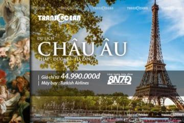 TOUR CHÂU ÂU | PHÁP – ĐỨC – BỈ – HÀ LAN 8N7Đ