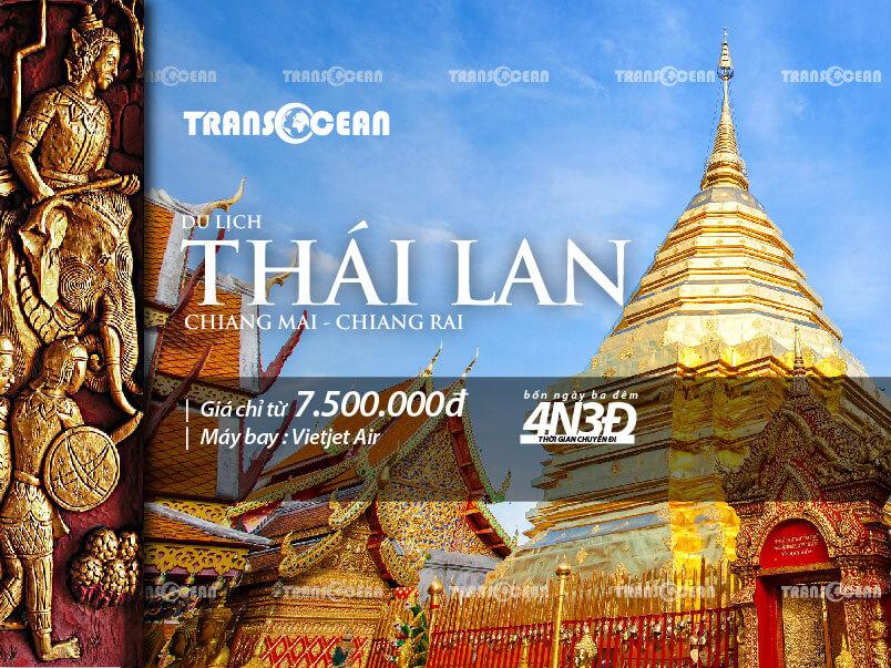 TOUR THÁI LAN 2020 | CHIANG MAI - CHIANG RAI 4N3Đ