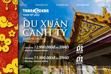 DU XUÂN CANH TÝ | BANG KOK - PATTAYA (BAY VIETNAM AIRLINES)