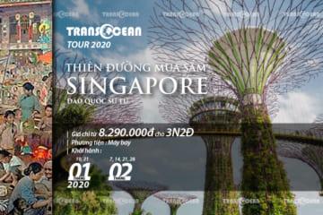 TOUR DU LỊCH SINGAPORE | THIÊN ĐƯỜNG MUA SẮM