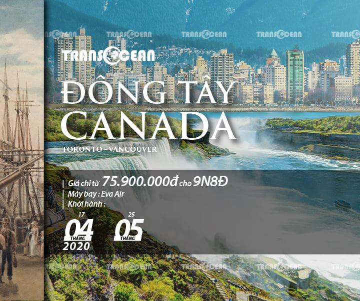 TOUR TOÀN CẢNH ĐÔNG TÂY CANADA   TORONTO - VANCOUVER