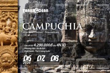 TOUR DU LỊCH CAMPUCHIA | SIEMREAP – SAFARI – PHNOMPENH