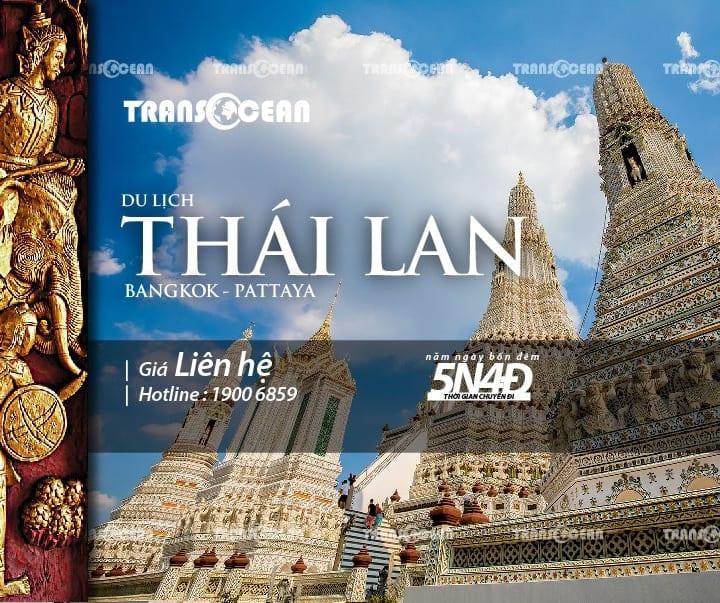 TOUR DU LỊCH THÁI LAN | BANG KOK - PATTAYA (Bay Vietnam Airlines)