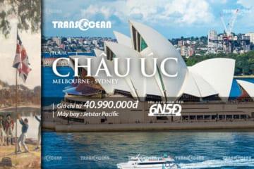TOUR KHÁM PHÁ CHÂU ÚC | MELBOURNE – SYDNEY 6N5Đ