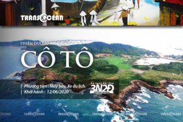 TOUR THIÊN ĐƯỜNG BIỂN ĐẢO CÔ TÔ 2020
